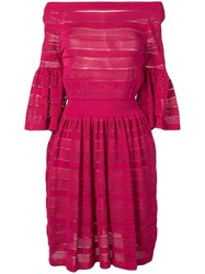 Antonino Valenti Layered Panel Dress Pink