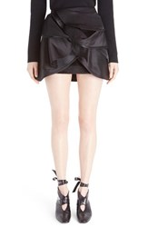 J.W.Anderson Women's Orbital Layers Silk Miniskirt