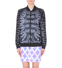 Adidas X Mary Katrantzou Graphic Print Jersey Jacket Multco