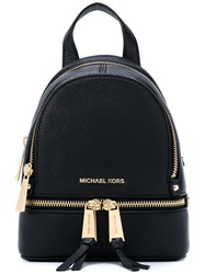 Michael Michael Kors Rhea Mini Backpack Black