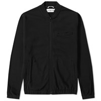 Universal Works Felpa Diagonal Track Jacket Black