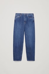 Cos Tapered Leg Jeans Blue