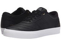 Huf Galaxy Black Leather White Men's Skate Shoes