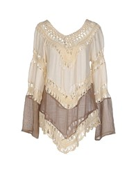 Care Of You Shirts Blouses Women Ivory