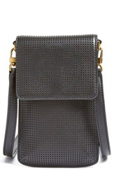 Tory Burch Perforated Leather Smartphone Crossbody Bag