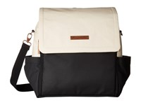 Petunia Pickle Bottom Glazed Color Block Abundance Boxy Backpack Birch Black Backpack Bags Bone
