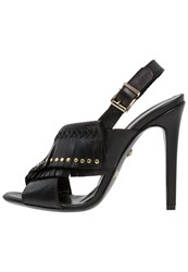 Just Cavalli High Heeled Sandals Black