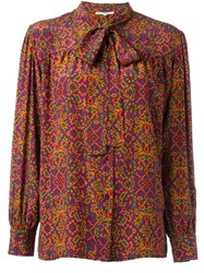 Yves Saint Laurent Vintage Printed Blouse Multicolour