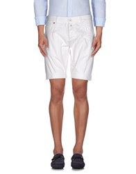Dirk Bikkembergs Sport Couture Trousers Bermuda Shorts Men White