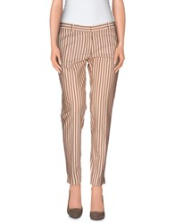 New York Industrie Trousers Casual Trousers Women Beige