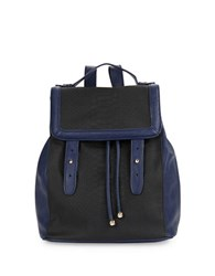 Kensie Embossed Faux Leather Backpack