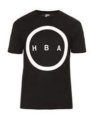 Hood By Air Orgy Logo Applique Cotton T Shirt