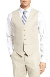 Nordstrom Men's Men's Shop Solid Linen Vest