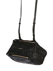 Givenchy Mini Pandora Washed Leather Shoulder Bag