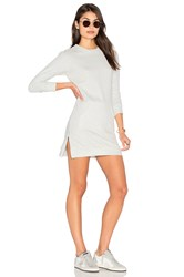 Candc California Marlow Sweatshirt Dress Gray