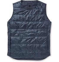 Descente H.C.S. Quilted Shell Down Gilet Navy
