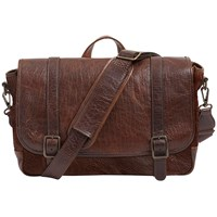 Moore And Giles Carlton Courier Bag American Bison