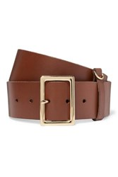 Frame Leather Belt Brown