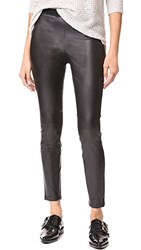 Bb Dakota Juliet Faux Leather Leggings Black