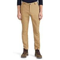 Aztech Mountain Sunny Side Elastic Inset Twill Trousers Beige Tan