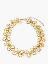Boden Oval Statement Necklace Gold