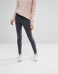 New Look High Waisted Skinny Jean Grey