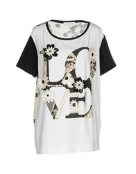 Anna Rachele Jeans Collection T Shirts White