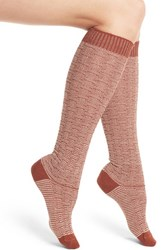 Wigwam Women's Ryn Knee High Socks Burnt Henna