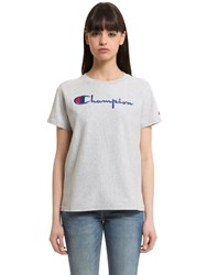 Champion Cotton Jersey T Shirt
