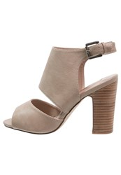 Dorothy Perkins Sardinia High Heeled Sandals Cream Nude