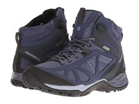 Merrell Siren Sport Q2 Mid Waterproof Crown Blue Women's Shoes