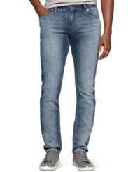 Calvin Klein Jeans Slim Fit Knit Jeans Chalked In