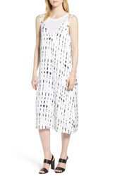 Kenneth Cole Two Layer Tank Dress Inkwell