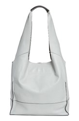 Rag And Bone Walker Leather Tote Grey Cement
