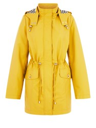 Dash Shower Resistant Coat Yellow