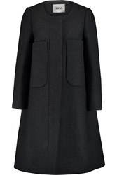 Issa Percy Wool Blend Coat Gray