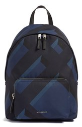 Burberry Men's 'Abbeydale' Check Nylon Backpack