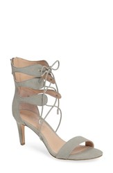 Charles By Charles David Women's Zone Lace Up Sandal Cloud Faux Leather