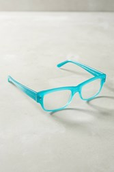 Anthropologie Brody Reading Glasses Turquoise