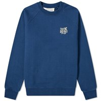A Kind Of Guise Mawu Crew Sweat Blue