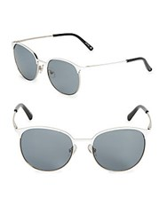 3.1 Phillip Lim 53Mm Clubmaster Sunglasses Black