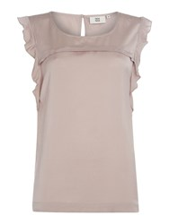 Noa Noa Sleeveless Top Grey