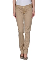 Guess Jeans Casual Pants Sand