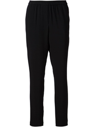 Thakoon Cropped Tapered Trousers Black