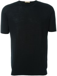 Nuur Knitted T Shirt Black