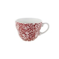 Burleigh Red Calico Breakfast Cup