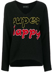 Zadig And Voltaire Super Happy Knitted Jumper Black
