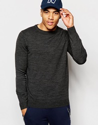New Look Crew Neck Jumper Charcoal