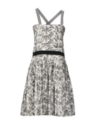 Boy By Band Of Outsiders Short Dresses White