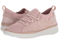 Allrounder By Mephisto Lets Go Rose Dust Mesh Suede Lace Up Casual Shoes Pink